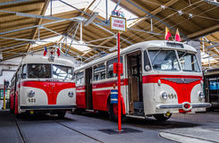 Ônibus histórico Imagem de Stock Royalty Free