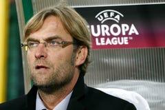 Ônibus Jurgen de FC Dortmund Borussia Fotos de Stock Royalty Free