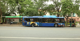 Ônibus sightseeing de Deli Imagem de Stock