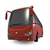 Ônibus vermelho ilustração stock