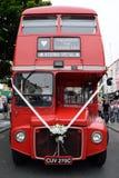 Ônibus vermelho Imagens de Stock