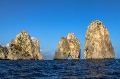 Ö av Capri Royaltyfria Bilder