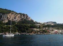 Ö av Capri Arkivbilder