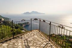 Ö av Capri, Italien Arkivfoto