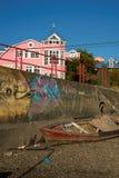 Ö av Chiloe Royaltyfri Fotografi