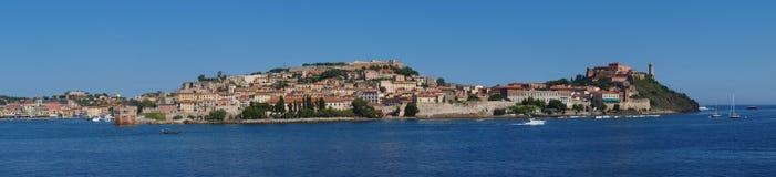 Ö av Elba, Italien fotografering för bildbyråer
