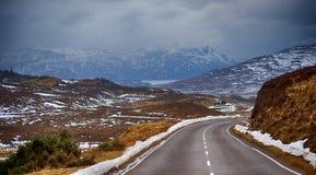 Ö av himmel, Skottland arkivfoton