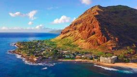 Ö av Oahu arkivfoton