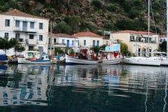 Ö av Poros, Grekland Royaltyfri Fotografi