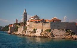 Ö av Rab, Kroatien Royaltyfri Fotografi