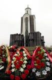 Ö av revor Vitryssland Minsk Arkivbild