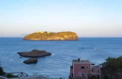 Ö av Santo Stefano royaltyfri fotografi