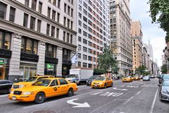 ö Avenida, New York Foto de Stock