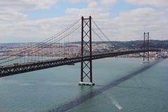 2ö da ponte de abril Fotografia de Stock