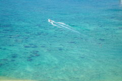 Ö för gränsöLingshui dykning Arkivfoton