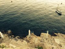 ö för korčula Arkivfoton