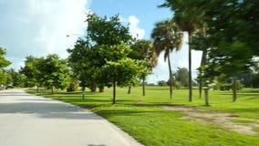 Ö för Miami Beach lagorce stock video