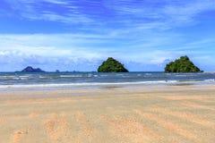 Ö för strandnopparathara Arkivfoto