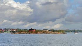 Ö finland golf Royaltyfria Bilder
