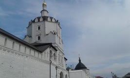 Ö-hagel Sviyazhsk royaltyfri fotografi