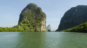 Ö i det Andaman havet Thailand Arkivfoton