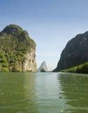 Ö i det Andaman havet Thailand Fotografering för Bildbyråer