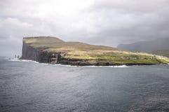 Ö i Faroe Island Royaltyfri Bild