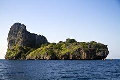 Ö i havet royaltyfria foton