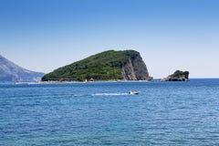 Ö i havet Fotografering för Bildbyråer