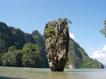 Ö i Thailand Phuket Arkivbilder