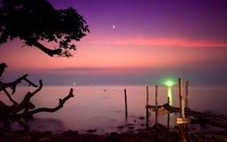 Ö Koh Chang, ensam strand, asia, Thailand Royaltyfri Foto