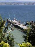 Ö Mainau i sjön Constance Arkivfoton
