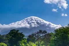 Ö Ometepe i Nicaragua Arkivfoton