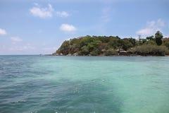 Ö på havet Royaltyfri Bild