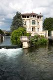 Ö-sur-la-Sorgue - Vaucluse - Provence - Frankrike Arkivbild
