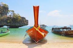 Öar av den yao noi ön Thailand Arkivfoto