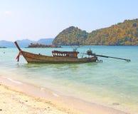 Öar av den yao noi ön Thailand Royaltyfri Fotografi