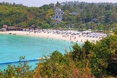 Öar av den yao noi ön Thailand Royaltyfri Foto