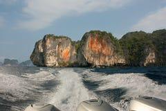 Öar av golfen av Thailand Royaltyfria Foton
