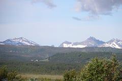 Öar av Kvaloya och Senja, Norge Fotografering för Bildbyråer