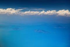 Öar för flyg- sikt i Salvador Royaltyfria Bilder