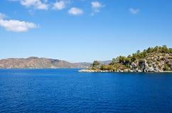 Öar i det Aegean havet Royaltyfri Fotografi