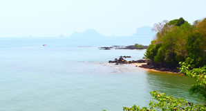 Öar i det Andaman havet Royaltyfri Fotografi