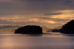 öar juan san Royaltyfria Bilder