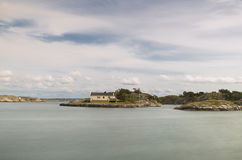 öar little Royaltyfria Foton