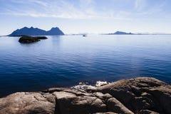 öar lofoten Royaltyfri Foto