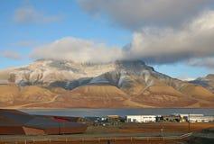öar norway svalbard royaltyfri bild