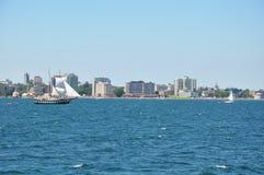 1000 öar och Kingston i Ontario royaltyfria bilder