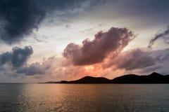 Öar på horisonten Royaltyfri Fotografi