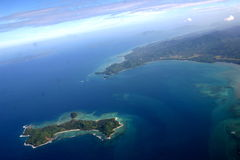öar philippines royaltyfria foton